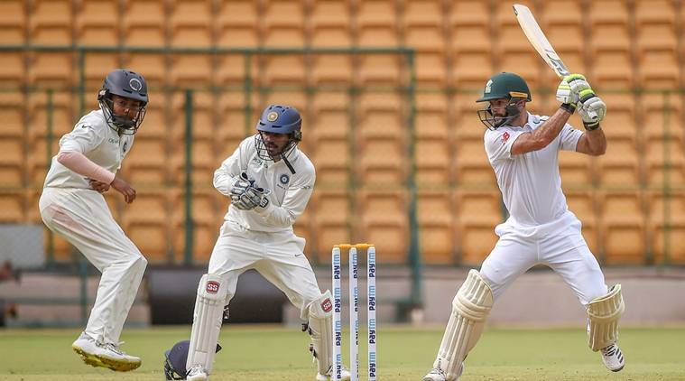 Indian bowlers restrict South Africa 'A' to 246/8 on first day