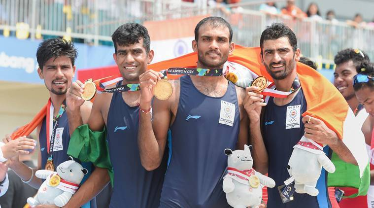 rowing india team