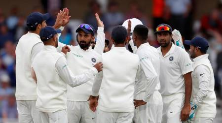 India vs England 3rd Test Day 2: India are 124/2, lead by 292 runs