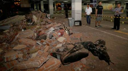 Powerful quake rocks Indonesian tourist island Lombok, 82 dead