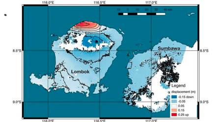 Indonesian island lifted 10 inches by deadlyquake