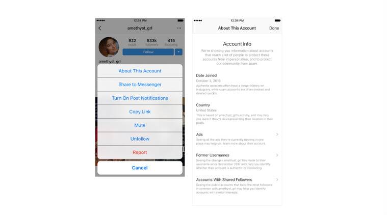 Instagram to introduce 'About this Account' feature, third-party ...