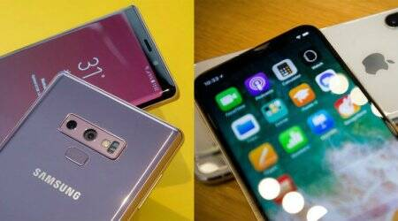 Apple iPhone X Versus Samsung Galaxy Note 9, iPhone X Versus Galaxy Note 9, iPhone vs Galaxy Note, Samsung, Apple, Note 9 vs iPhone X, iPhone X vs Galaxy Note 9, Galaxy Note 9, Note 9