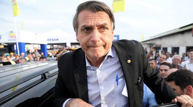 Let police kill criminals, says Brazil presidential candidate Jair Bolsonaro