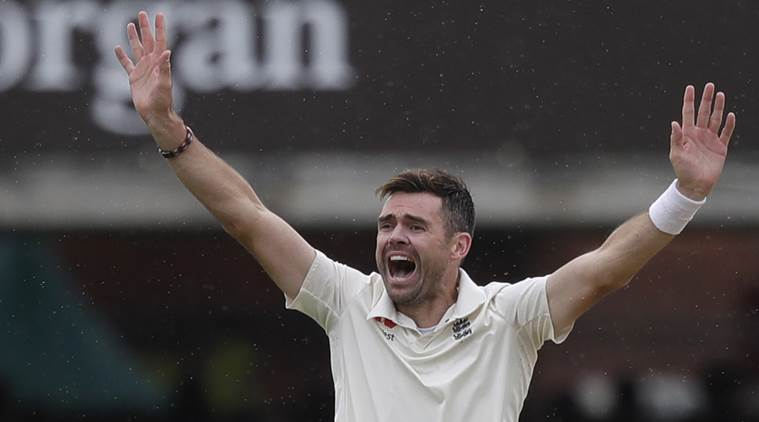 James Anderson brings up 100 wickets at Lord's