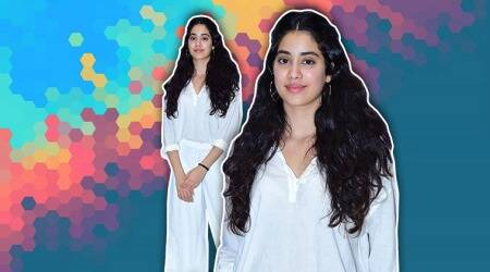 Janhvi Kapoor lets loose and beats monsoon blues in this all-white outfit
