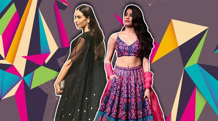 lakme fashion week, lakme fashion week 2018, janhvi kapoor, karisma kapoor, nachiket barve, arpita mehta, janhvi kapoor lakme fashion week, karisma kapoor lakme fashion week, celeb fashion, indian express, indian express news