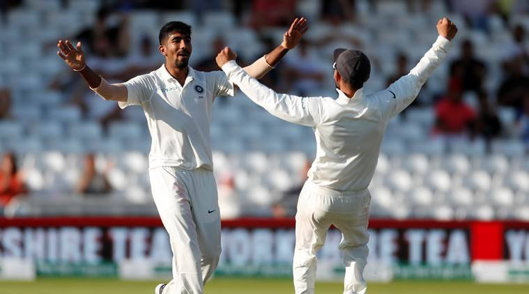 Image result for england vs india 3rd test Jasprit Bumrah