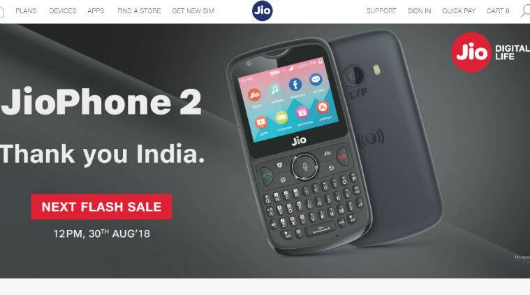 jio phone 2, jio phone 2 price, jio phone, jio phone whatsApp, jio phone 2 sale, jio phone 2 next sale, jio phone 2 specifications, jio phone 2 features