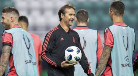 Julen Lopetegui does not regret joining Real Madrid despite Spain upheaval