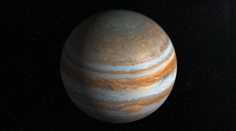 Planetary science, Astronomy, Jupiter, Gas giants, Exoplanetology, Storms, Great Red Spot, Planet, Io, Atmosphere of Jupiter, Exploration of Jupiter, goddard space flight center, Bjoraker, radiation, NASA's Jet Propulsion Laboratory, Maryland, National Aeronautics