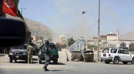 Ahead of Eid celebrations, Taliban rockets explode near Afghanistan's presidentialpalace