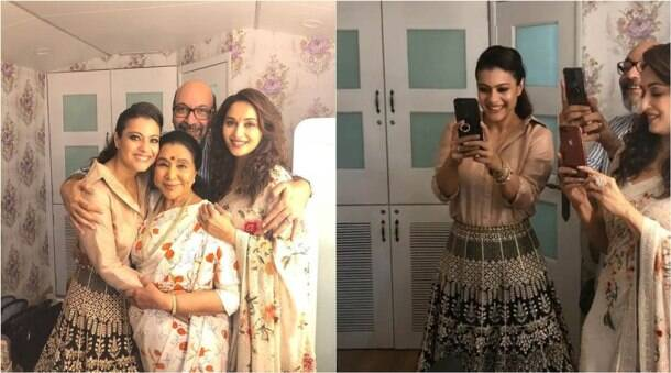 When Kajol and Madhuri Dixit turned into 'mushy paps'