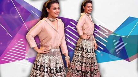 Helicopter Eela promotions: Kajol just committed a faux pas in this Tarun Tahilianilehenga