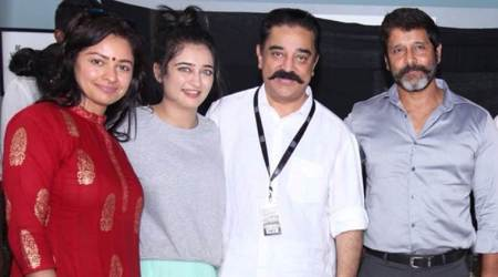 Kamal Haasan's next production with Vikram goes on floors