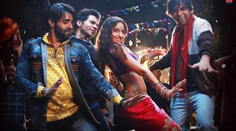 nora fatehi, rajkummar rao in stree song kamariya