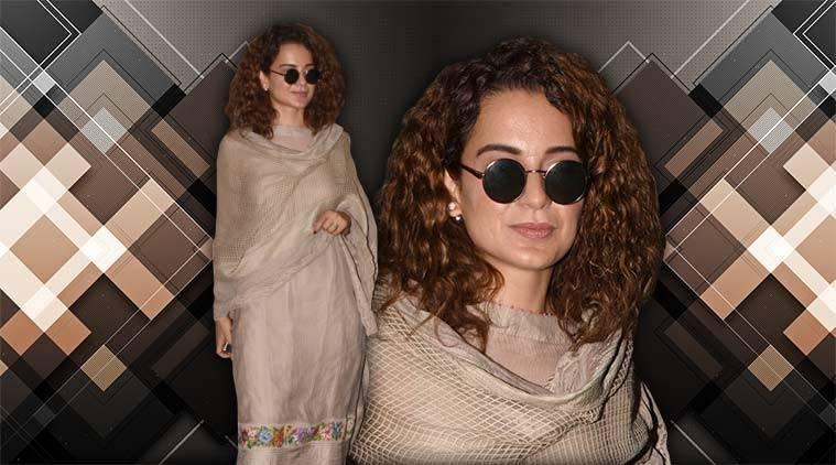 Kangana Ranaut, Kangana Ranaut latest photos, Kangana Ranaut fashion, Kangana Ranaut ethnic style, Kangana Ranaut street style, indian express, indian express news