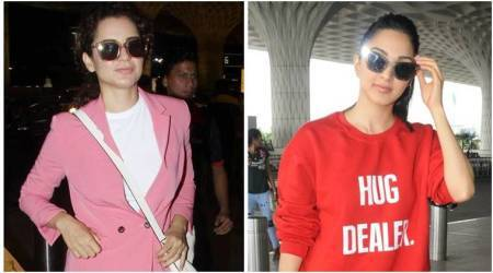 Best airport looks, Best airport looks bollywood, Sonam Kapoor, Kangana Ranaut, kiara advani, celeb fashion, bollywood fashion, indian express, indian express newsBest airport looks, Best airport looks bollywood, Sonam Kapoor, Kangana Ranaut, kiara advani, celeb fashion, bollywood fashion, indian express, indian express news