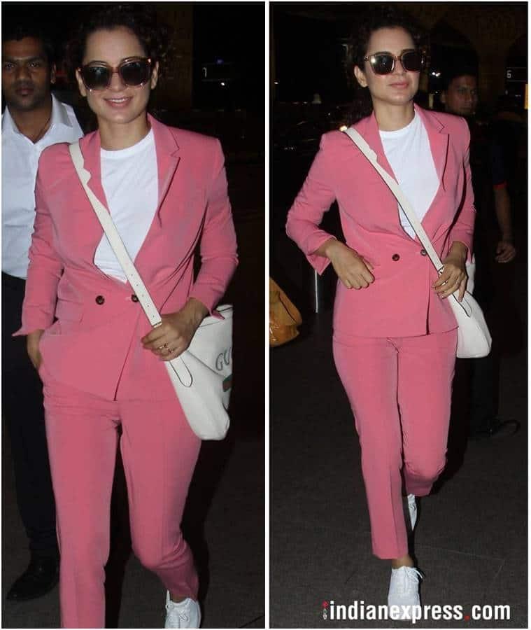 Best airport looks, Best airport looks bollywood, Sonam Kapoor, Kangana Ranaut, kiara advani, celeb fashion, bollywood fashion, indian express, indian express news
