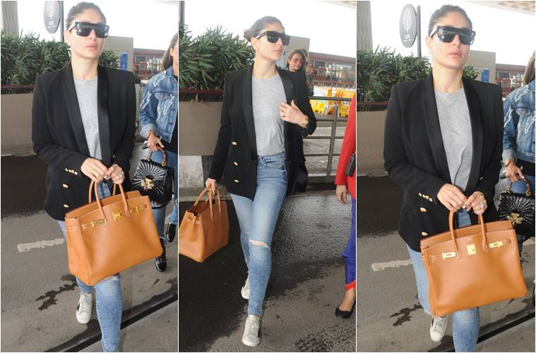 Kareena Kapoor Khan, Kareena Kapoor Khan latest photos, Kareena Kapoor Khan airport, Kangana Ranaut, Kangana Ranaut latest photos, Kangana Ranaut fashion, Karisma Kapoor, Karisma Kapoor fashion, indian express, indian express news