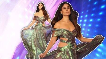 Lakme Fashion Week 2018: Kareena Kapoor Khan looks like a goddess in this holographic Monisha Jaising outfit