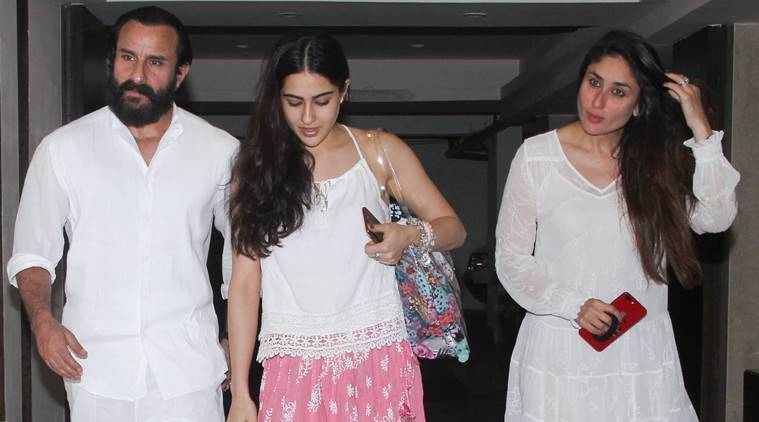 Kareena, Sara, Saif coordinate in cool whites to beat the heat in style
