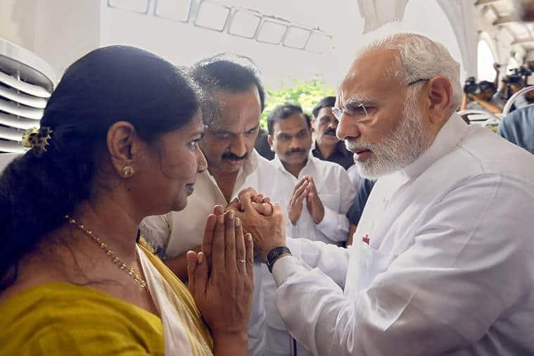 Karunanidhi laid to rest in Marina Beach next to mentor Annadurai