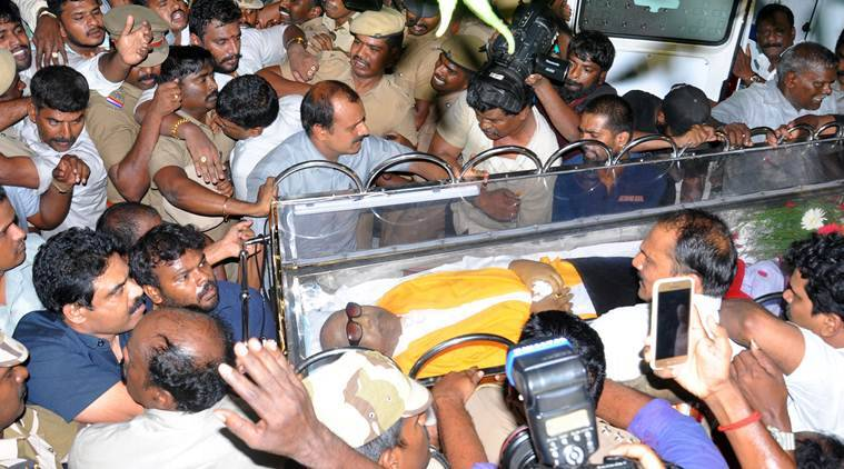 Burial space for M Karunanidhi: What is the controversy?