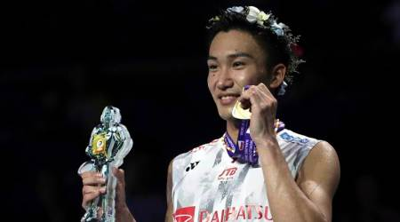 Kento Momota becomes first Japanese to win gold at BWF World Championships