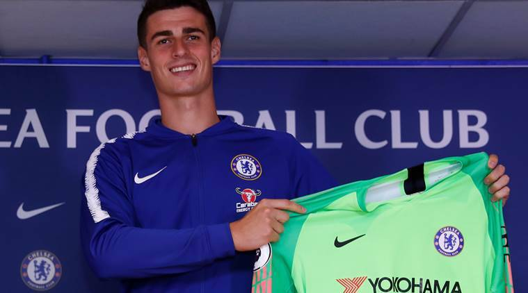 Fellow Spaniards at Chelsea convinced me to join club, says Kepa Arrizabalaga