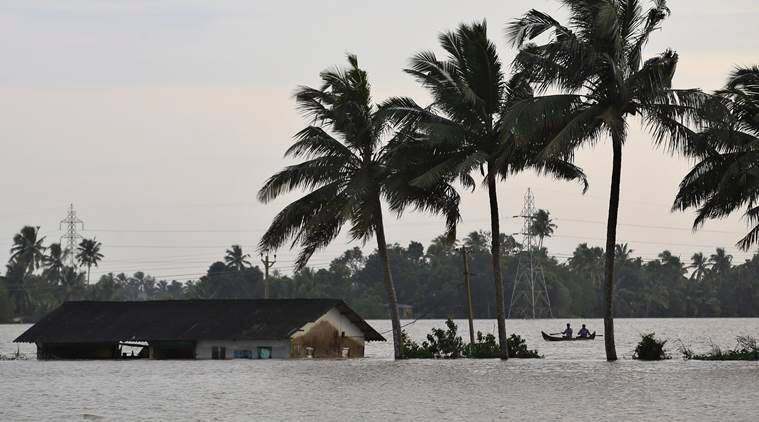 kerala, kerala floods, uae aid for kerala, pinarayi vijayan, kerala flood relief, kerala floods aid, kerala rains, indian express news