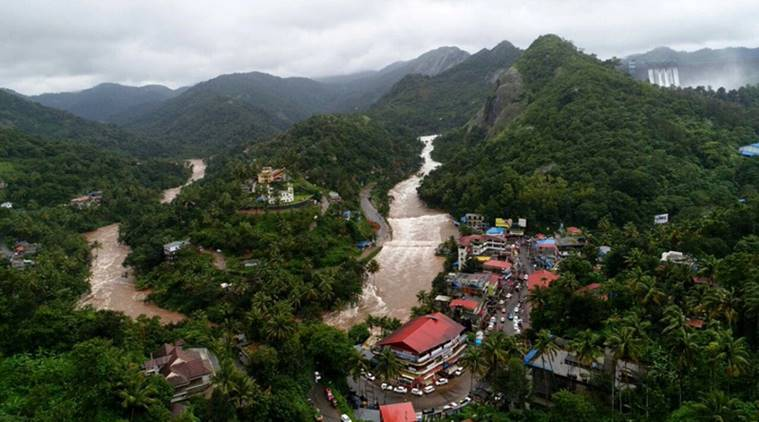 Kerala rains LIVE, kerala rains, kerala landslide, kerala dam, periyar river, idukki dam, kerala floods, Idduki dam gates, floods in kerala, heavy rain in kerala, south west monsoon, Indian Express, kerala news