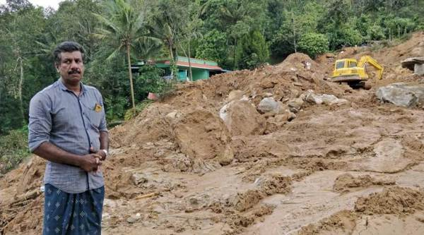 Kerala floods: This landslide in Idukki buried 4 residents, home