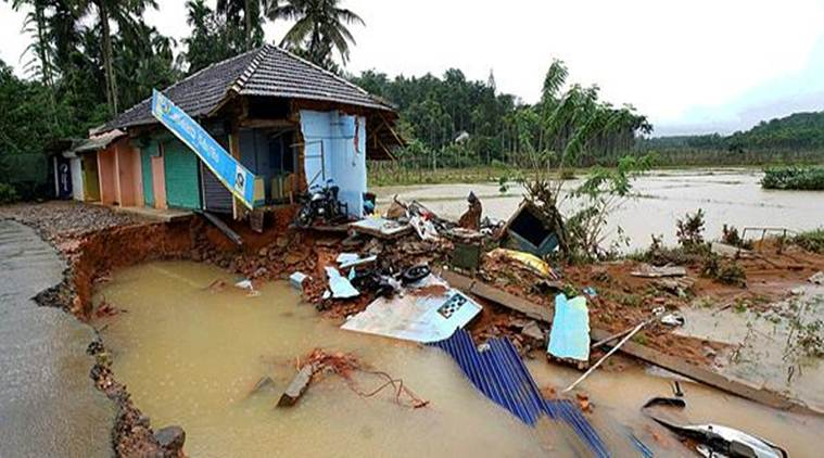 On Saturday, Chief MinisterPinarayi Vijayan had announced a compensation of Rs 4 lakh to the next of kin of deceased and Rs 10 lakh to those who lost their property in the floods.