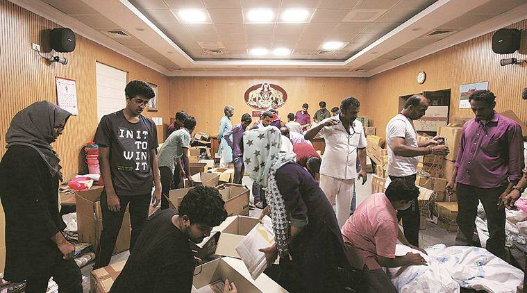 Kerala flood relief measures: Onam preparation makes way for relief ops at Kerala House