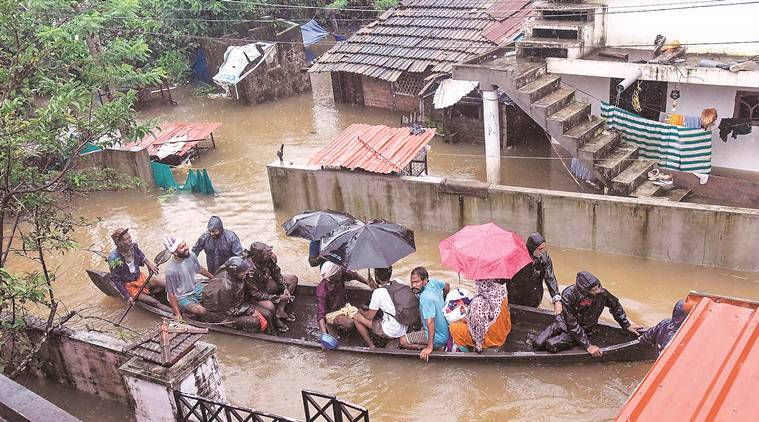 Rain intensifies in flood-hit Kerala, IMD predicts heavt downpour for two days