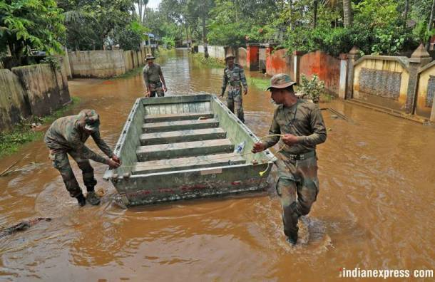 kerala rains, kerala rains photos, relief and rescue mission