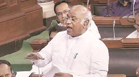 Kharge to boycott Lokpal meet again, writes to PM