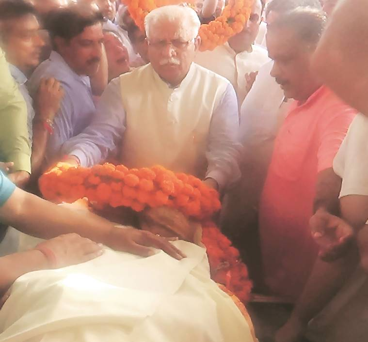 INLD MLA Hari Chand Midha dies of cardiac arrest