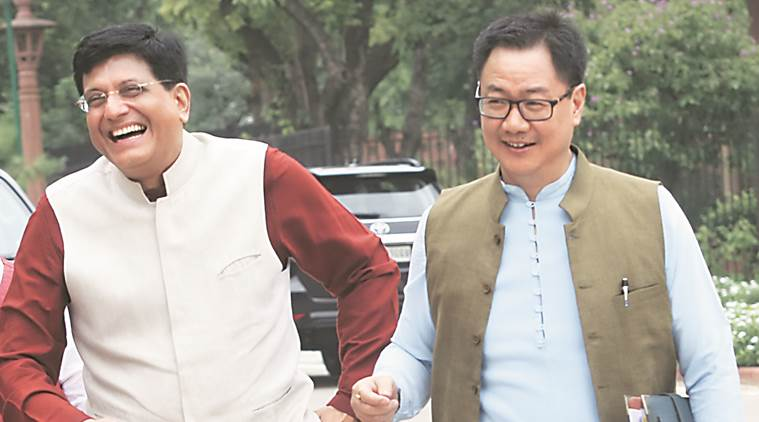 Not refugees, Rohingya involved in illegal acts: Kiren Rijiju