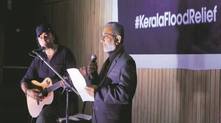 For Kerala fundraiser, two Supreme Court judges make a melodious stage debut