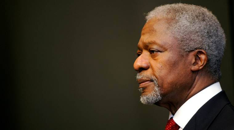 Ghana, Ghana mourns Annan, Kofi Annan death, Kofi annan, former UN chief, world news, Indian express news