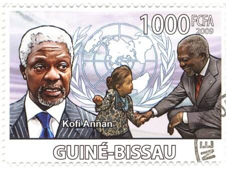 RIP Kofi Annan: Facts for kids on the Nobel Peace Prize winner