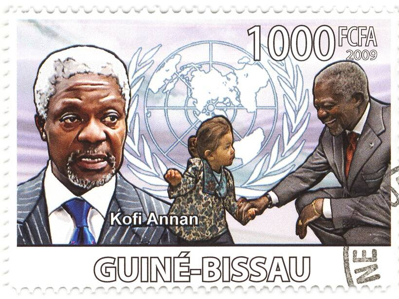 Kofi, Annan, united nations, nobel prize