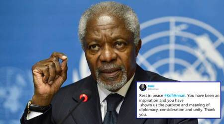 Kofi Annan dies at 80, Twitterati mourn the death of first black African UN secretary-general