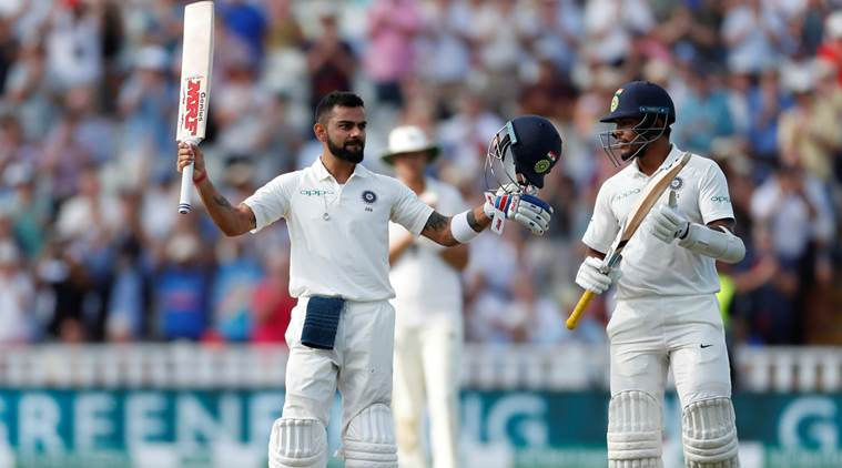 Twitter congratulates Virat Kohli for a 'brilliant ton when the team needed it the most'