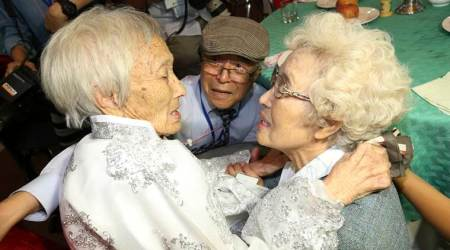 Families from war-split Koreas, seperated for 65 years, reunited briefly