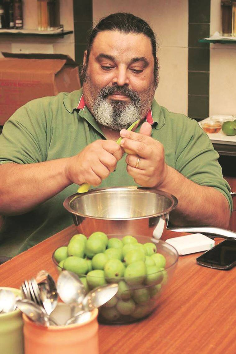 Kurush Dalal, a professor of archaeology, runs Katy's Kitchen, one of Mumbai's foremost Parsi catering companies. (Photo: Vernika Awal)