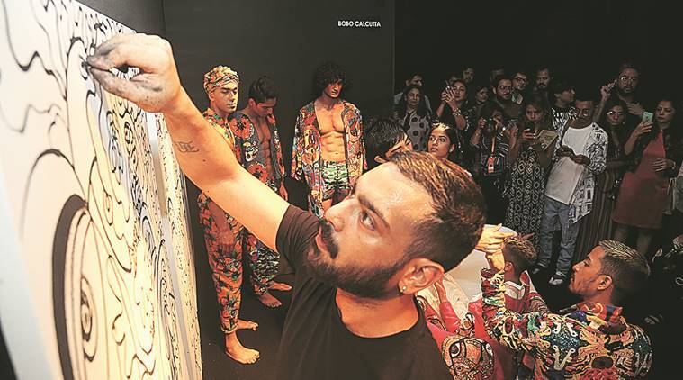 Lakme Fashion Week, Lakme Fashion Week 2018, lfw Sustainable Fashion Day, Pallavi Shantam, Saloni Sakaria, Lars Andersson,  Pallavi Dhyani, Naushad Ali, divya dureja, indian express news