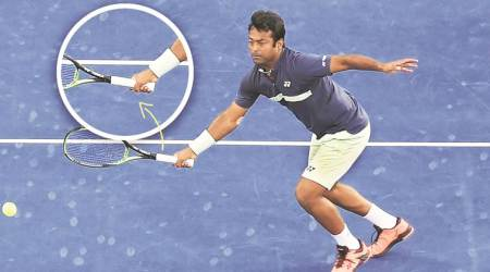 Leander Paes' fixation: Getting the right grip